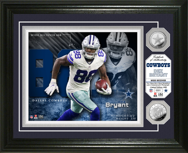Dallas Cowboys Dez Bryant Photo Mint Frame