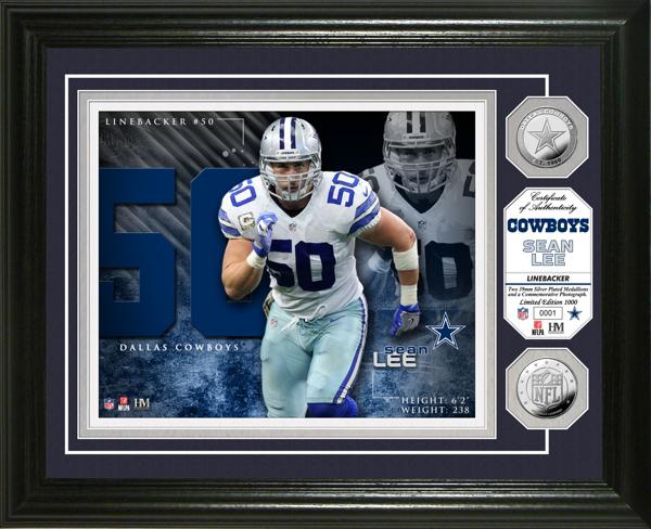Dallas Cowboys Sean Lee Photo Mint Frame