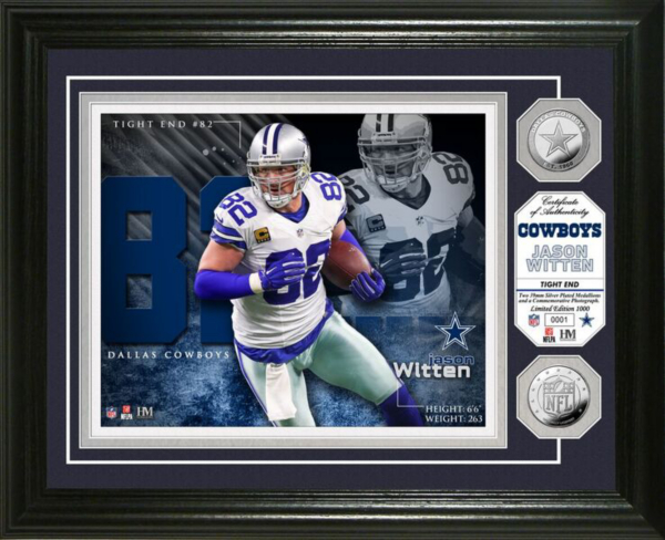 Dallas Cowboys Jason Witten Photo Mint Frame