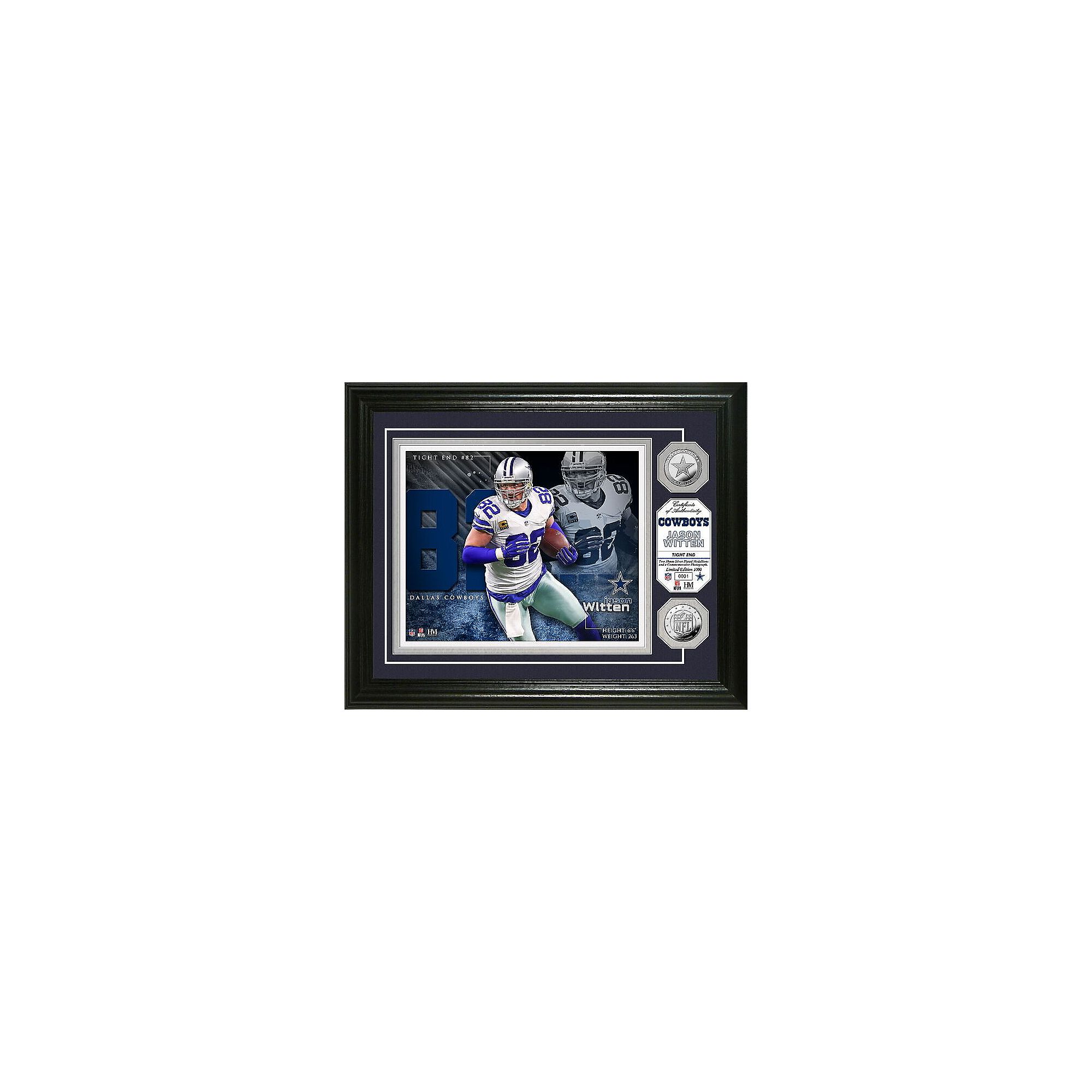 Dallas Cowboys Jason Witten Photo Mint Frame
