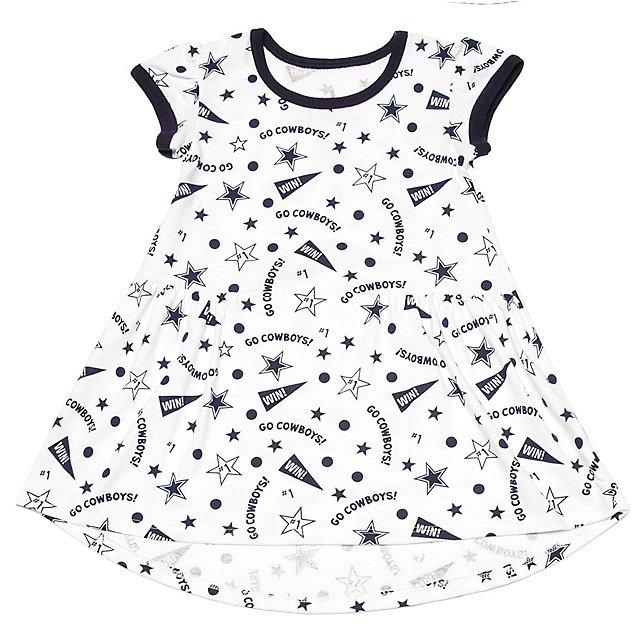 Dallas Cowboys Toddler Degan Dress