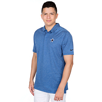 Dallas Cowboys Nike Control Stripe Polo