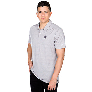 Dallas Cowboys Nike Dry Heather Polo