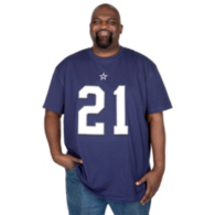 Dallas Cowboys Big and Tall Ezekiel Elliott Player Tee
