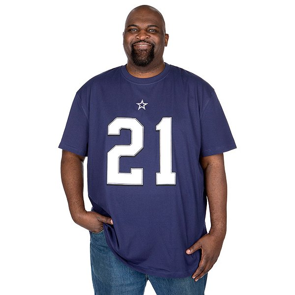 Dallas Cowboys Big and Tall Ezekiel Elliott Player T-Shirt