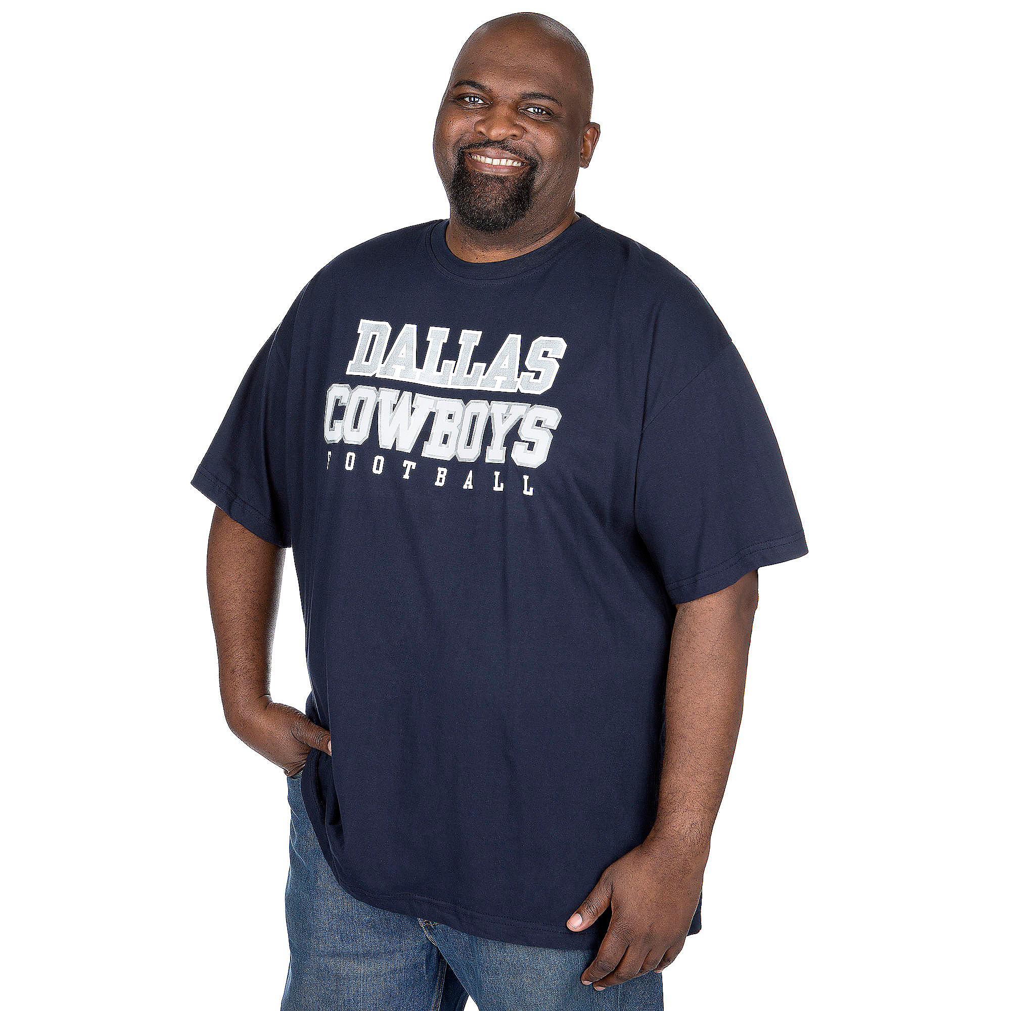 Dallas Cowboys Big and Tall Practice Tee