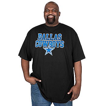 Dallas Cowboys Big and Tall Toned Up Tee