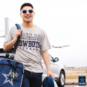 Dallas Cowboys Practice Khaki T-Shirt