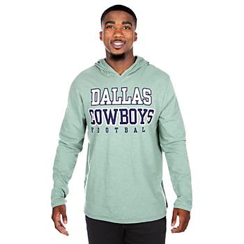 Dallas Cowboys Practice Sage Long Sleeve Hoodie