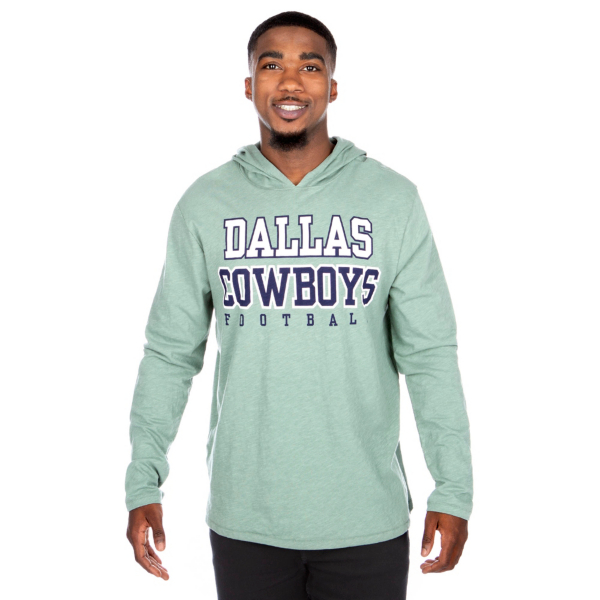 Dallas Cowboys Practice Sage Long Sleeve Hoodie
