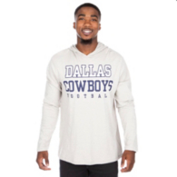 Dallas Cowboys Practice Khaki Long Sleeve Hoody