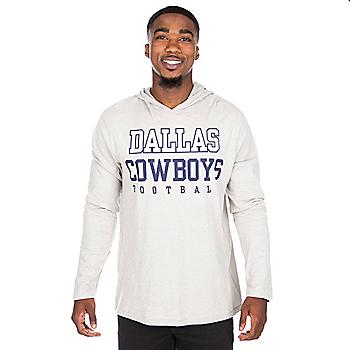 Dallas Cowboys Practice Khaki Long Sleeve Hoody
