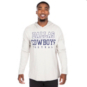Dallas Cowboys Practice Khaki Long Sleeve Hoodie