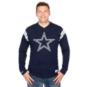 Dallas Cowboys Mitchell & Ness Team Captain V-Neck Long Sleeve Tee