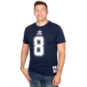 Dallas Cowboys Mitchell & Ness Troy Aikman #8 Name & Number Tee