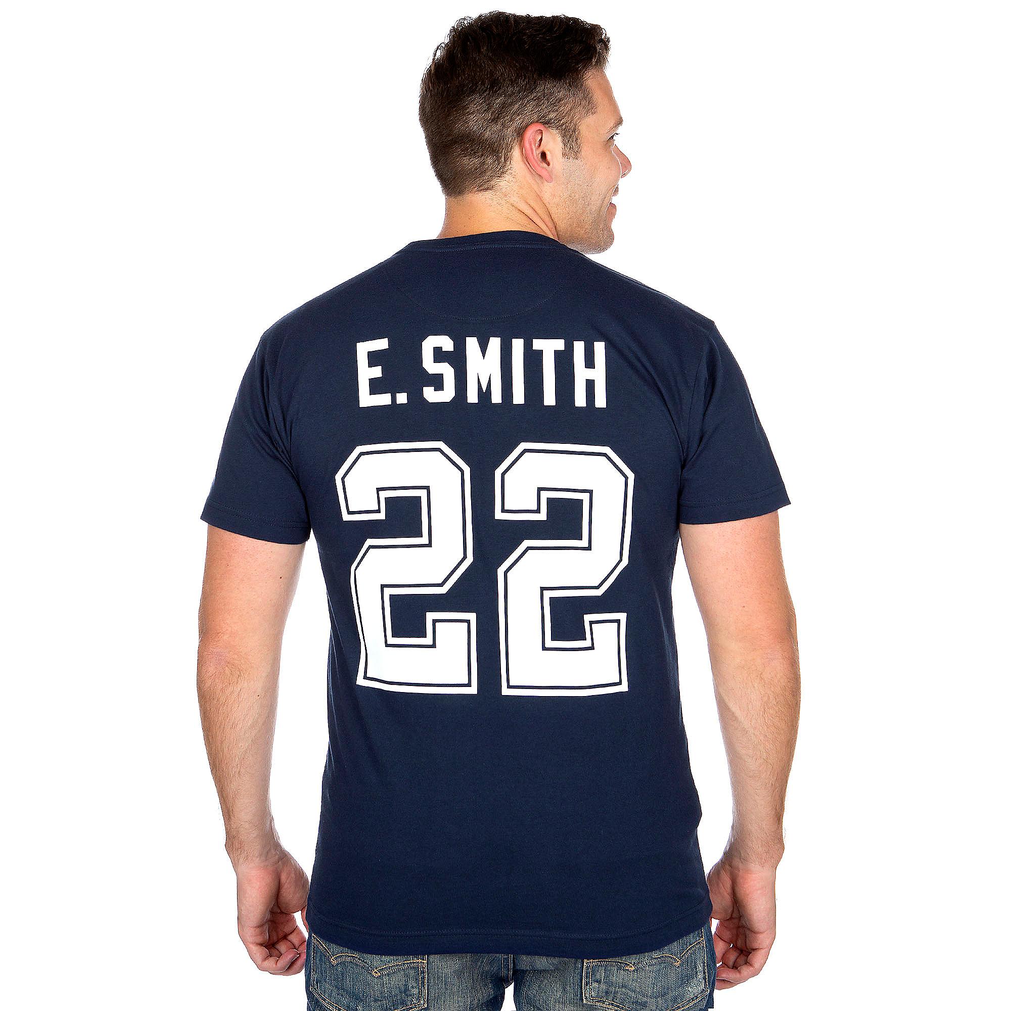 premium selection 9ca3f 33a7e Dallas Cowboys Mitchell & Ness Emmitt Smith #22 Name & Number Tee | Dallas  Cowboys Pro Shop