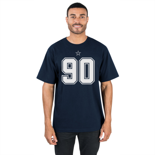 Dallas Cowboys DeMarcus Lawrence #90 Authentic Name and Number Tee