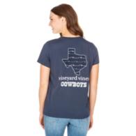 Dallas Cowboys Vineyard Vines Womens State Short Sleeve Tee