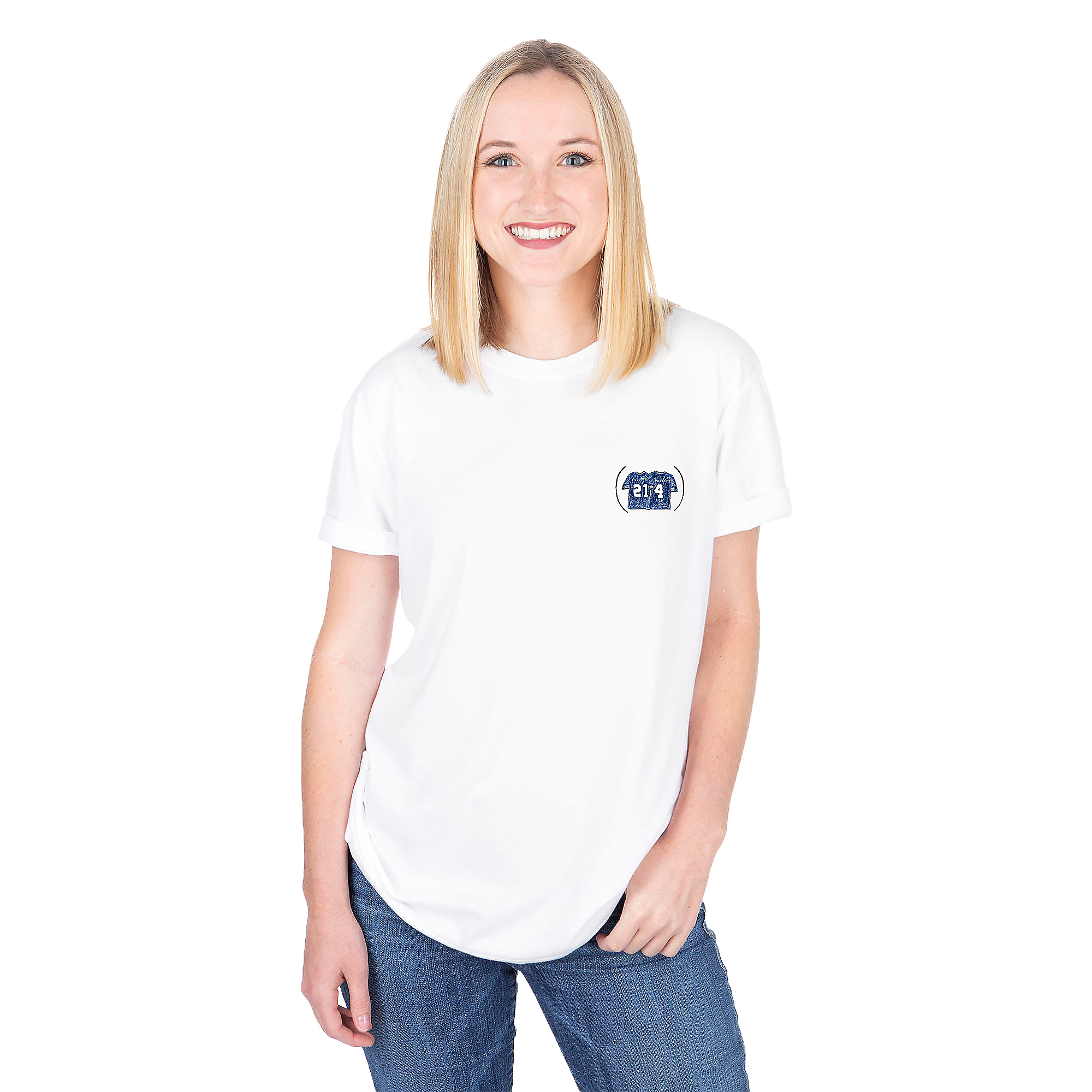 Dallas Cowboys Unfortunate Portrait Unisex Area Code 214 Tee