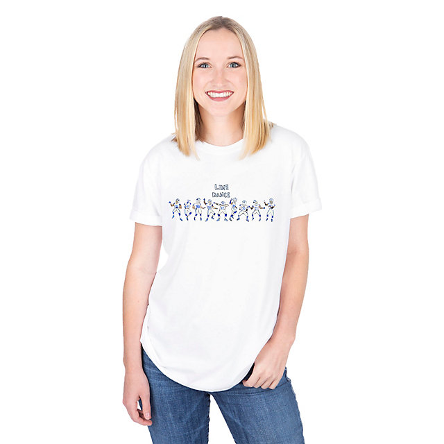 Dallas Cowboys Unfortunate Portrait Unisex Line Dance Tee