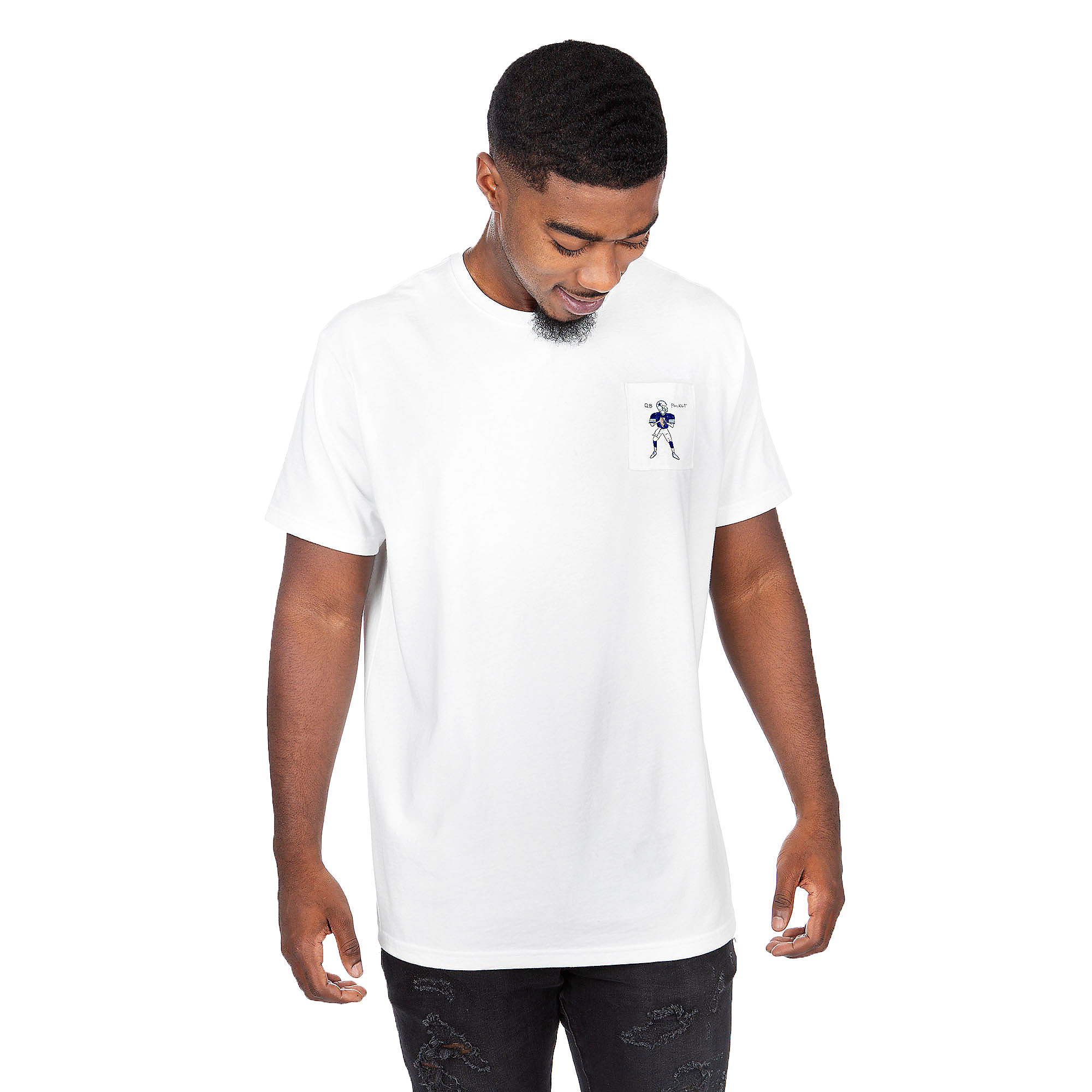 Dallas Cowboys Unfortunate Portrait Unisex QB Pocket Tee