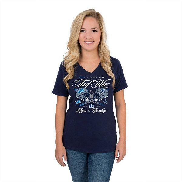 Dallas Cowboys Womens 2018 Lions Gameday T-Shirt