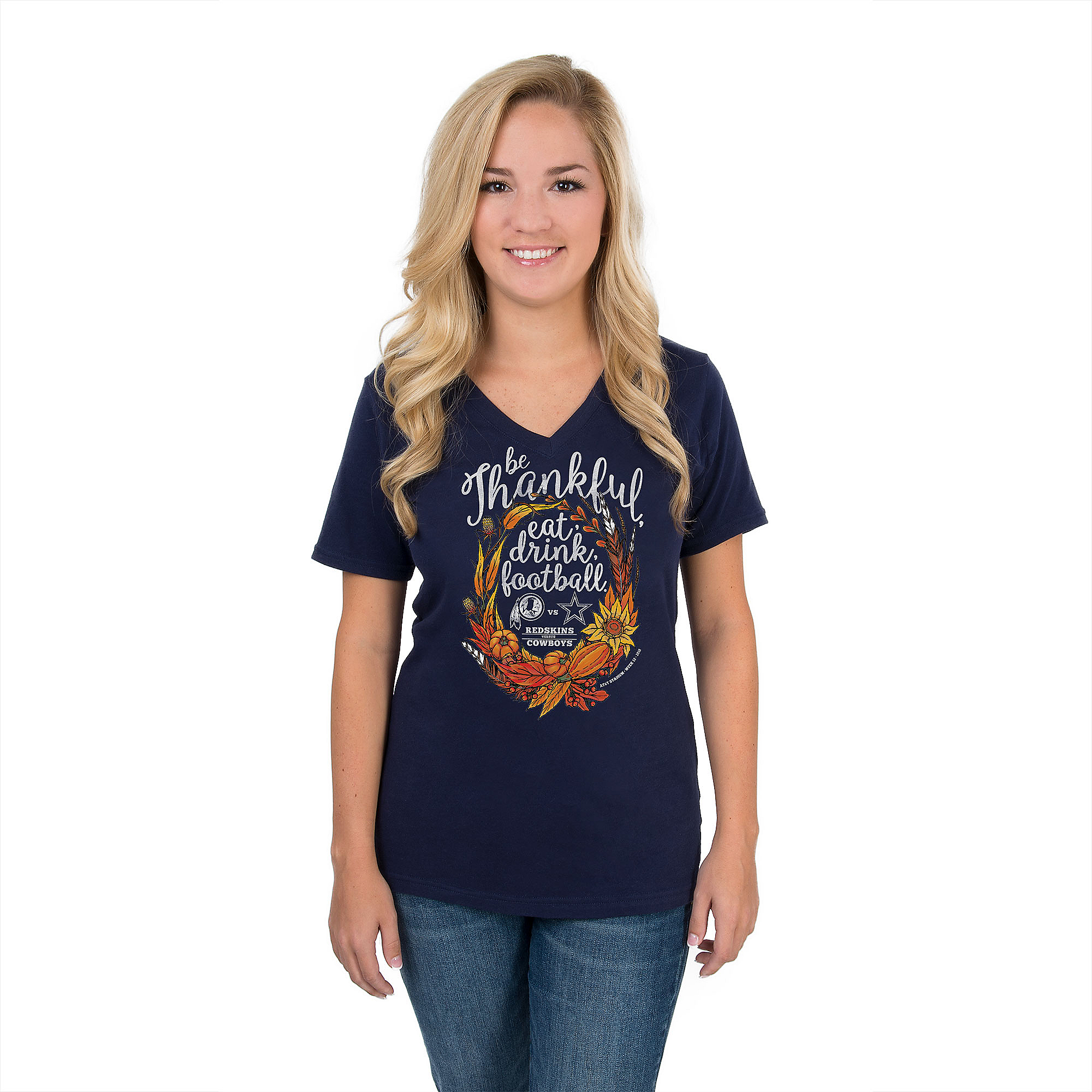 Dallas Cowboys Womens 2018 Redskins Gameday Tee