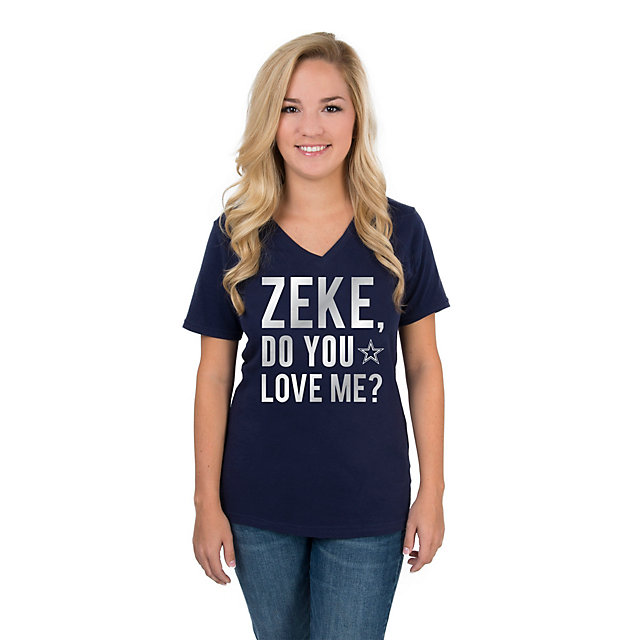 Dallas Cowboys Zeke Do You Love Me Tee