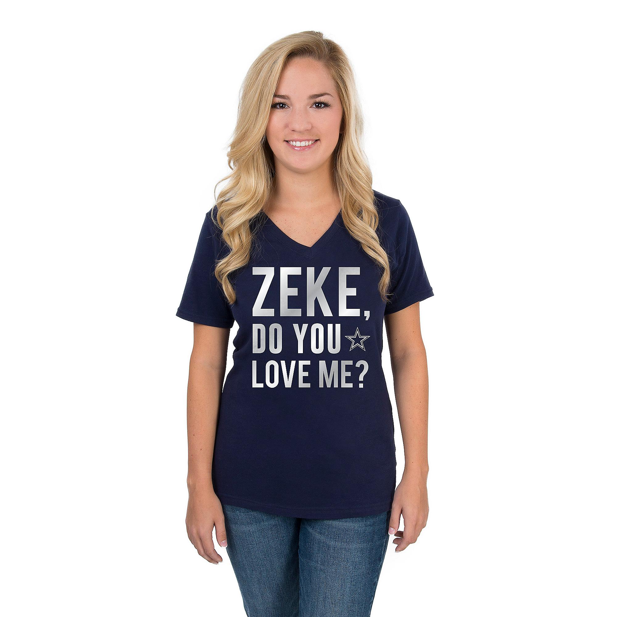 Dallas Cowboys Zeke Do You Love Me T-Shirt