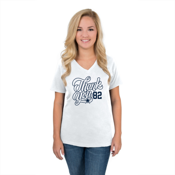 Dallas Cowboys Womens Jason Witten Thank You 82 Tee
