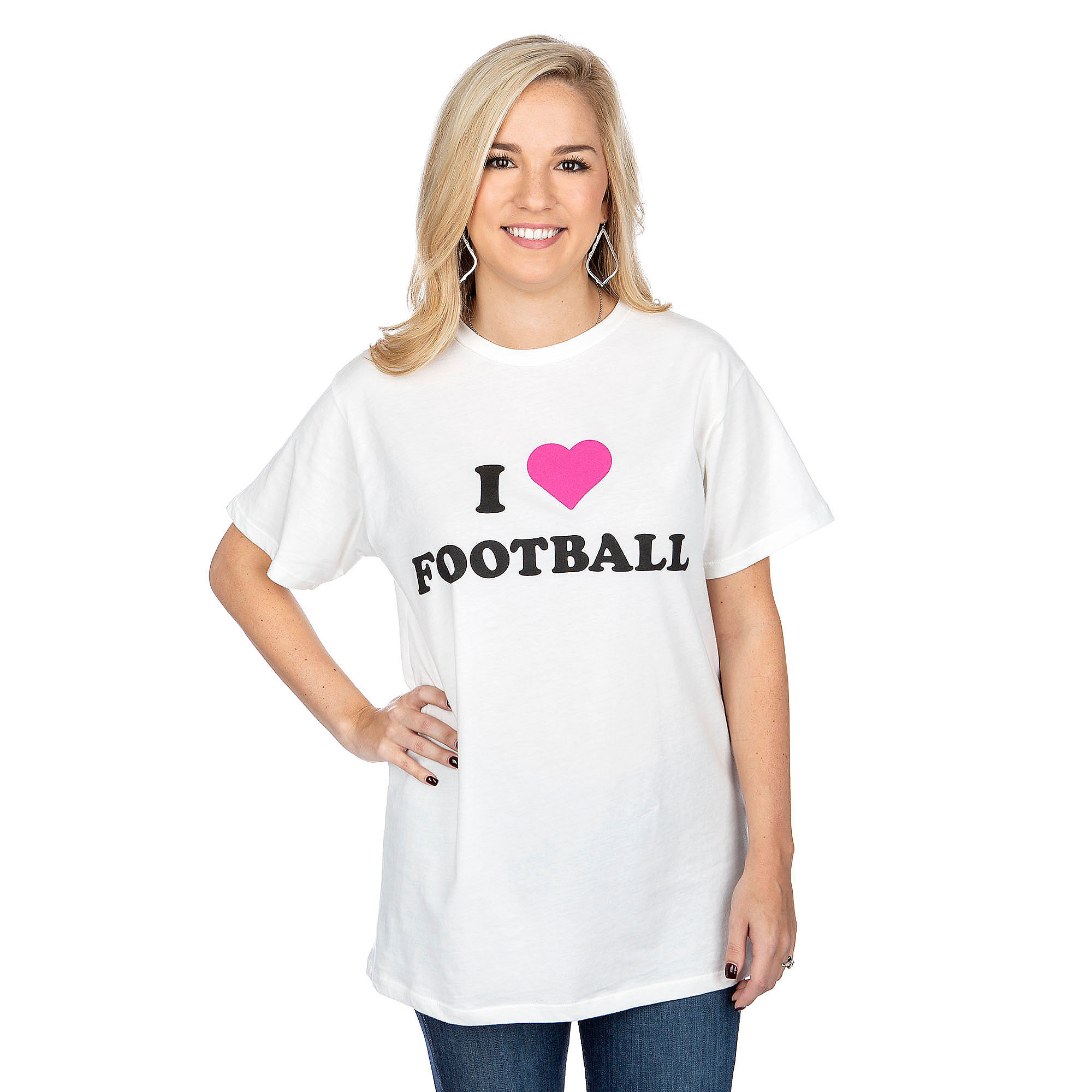 Studio Buddy Love I Heart Football Tee