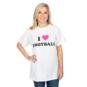 Studio Buddy Love I Heart Football Tee