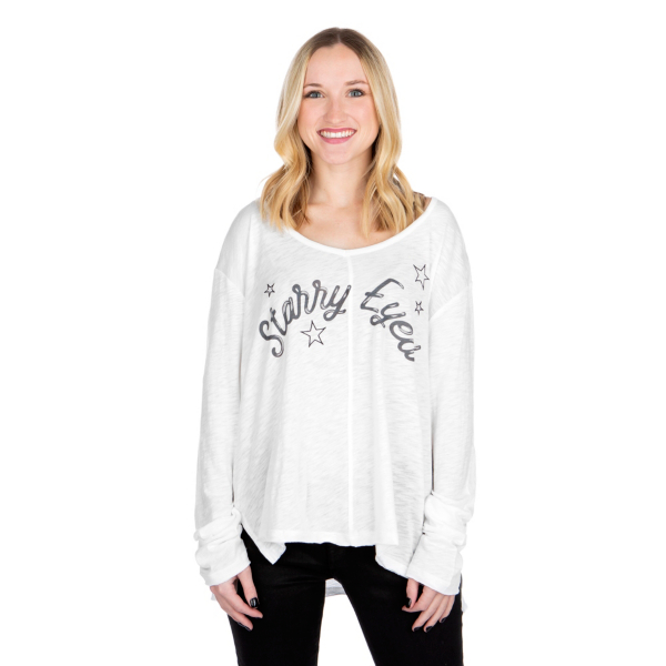 Studio P.J. Salvage Starry Eyed Long Sleeve Top