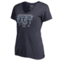 Dallas Cowboys Womens 2018 NFC East Division Champs Short Sleeve T-Shirt