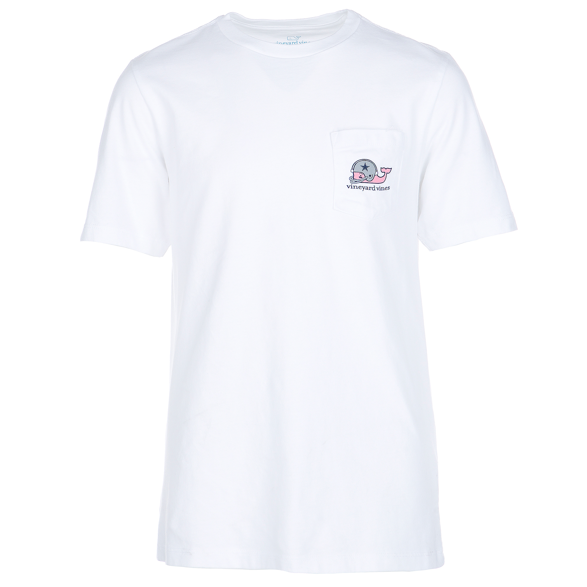 Dallas Cowboys Vineyard Vines Youth Whale Football Short Sleeve Tee
