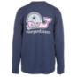 Dallas Cowboys Vineyard Vines Youth Whale Football Helmet Long Sleeve Tee