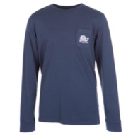 Dallas Cowboys Vineyard Vines Youth Whale Football Helmet Long Sleeve Tee