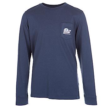 1a5679cbe Dallas Cowboys Vineyard Vines Youth Whale Football Helmet Long Sleeve Tee