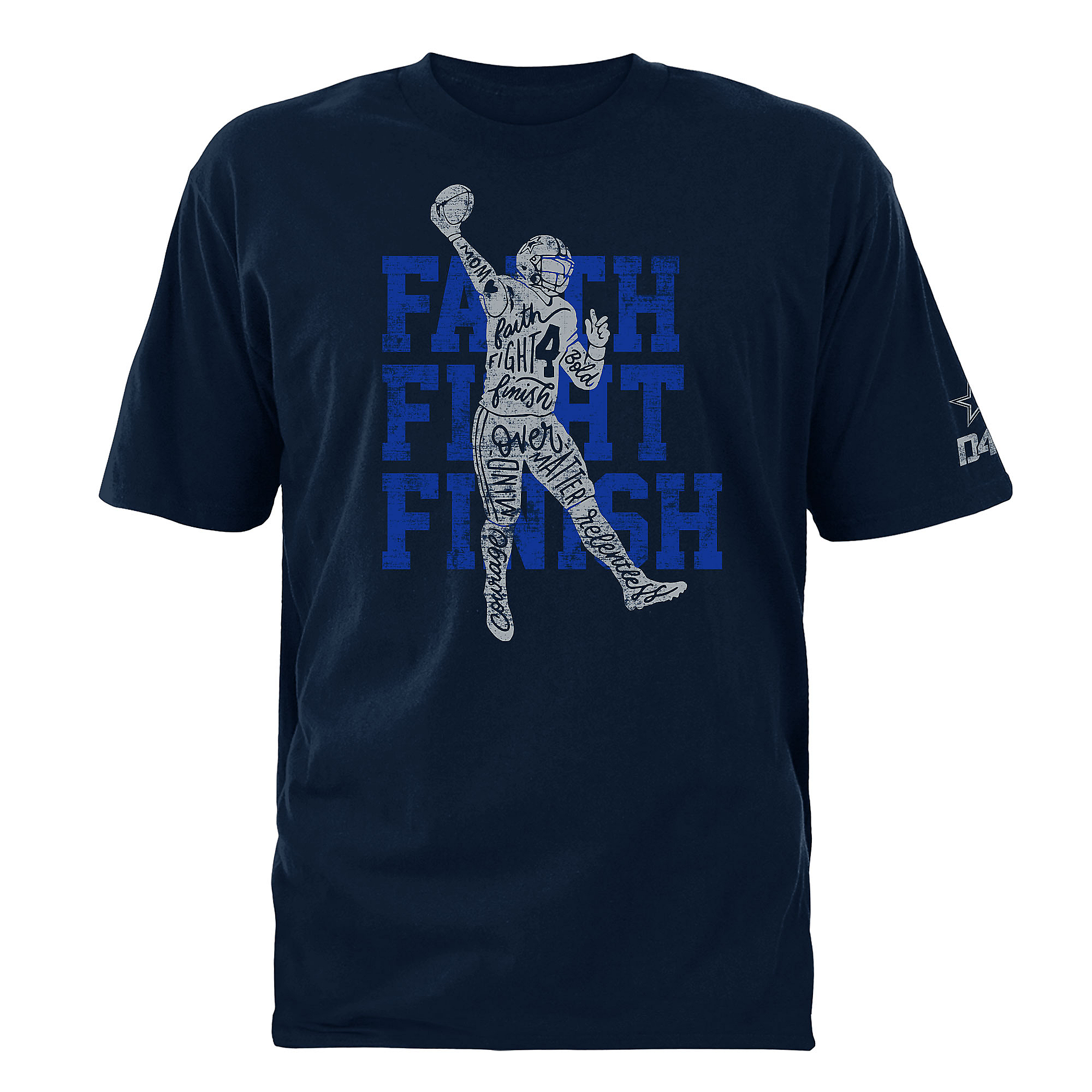 Dallas Cowboys Youth Player Letters Tee