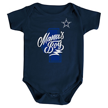 d0ed60ace Dallas Cowboys Infant Mama s Boy Bodysuit