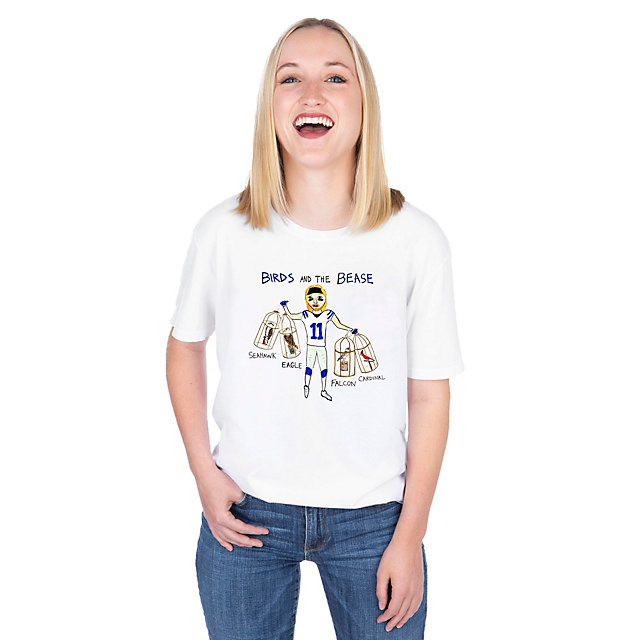 Dallas Cowboys Unfortunate Portrait Unisex Birds And The Bease Tee