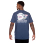 Dallas Cowboys Vineyard Vines Santa Whale Short Sleeve Tee