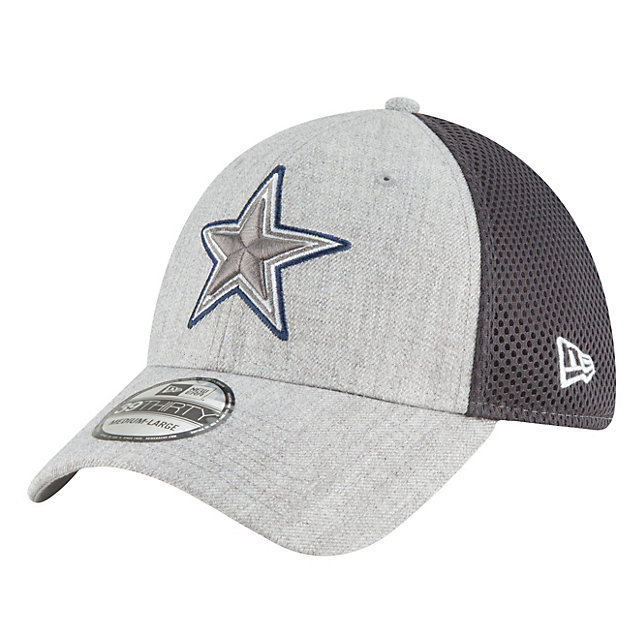 Dallas Cowboys New Era Heathered Neo Pop 39Thirty Cap
