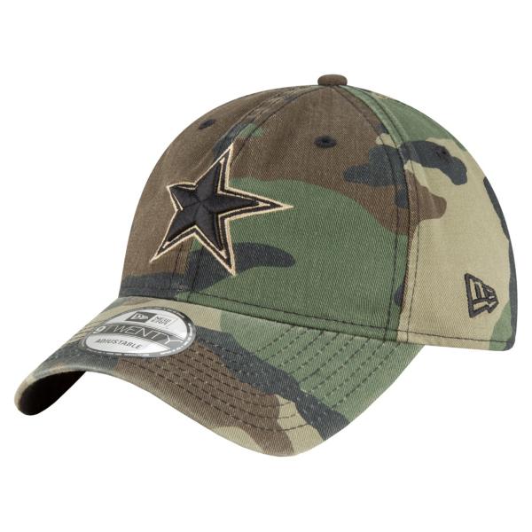 Dallas Cowboys New Era Core Classic Woodland Camo 9Twenty Cap