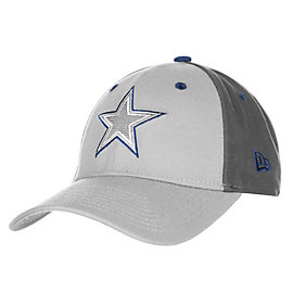 Dallas Cowboys New Era The League Grey Pop 9Forty Cap