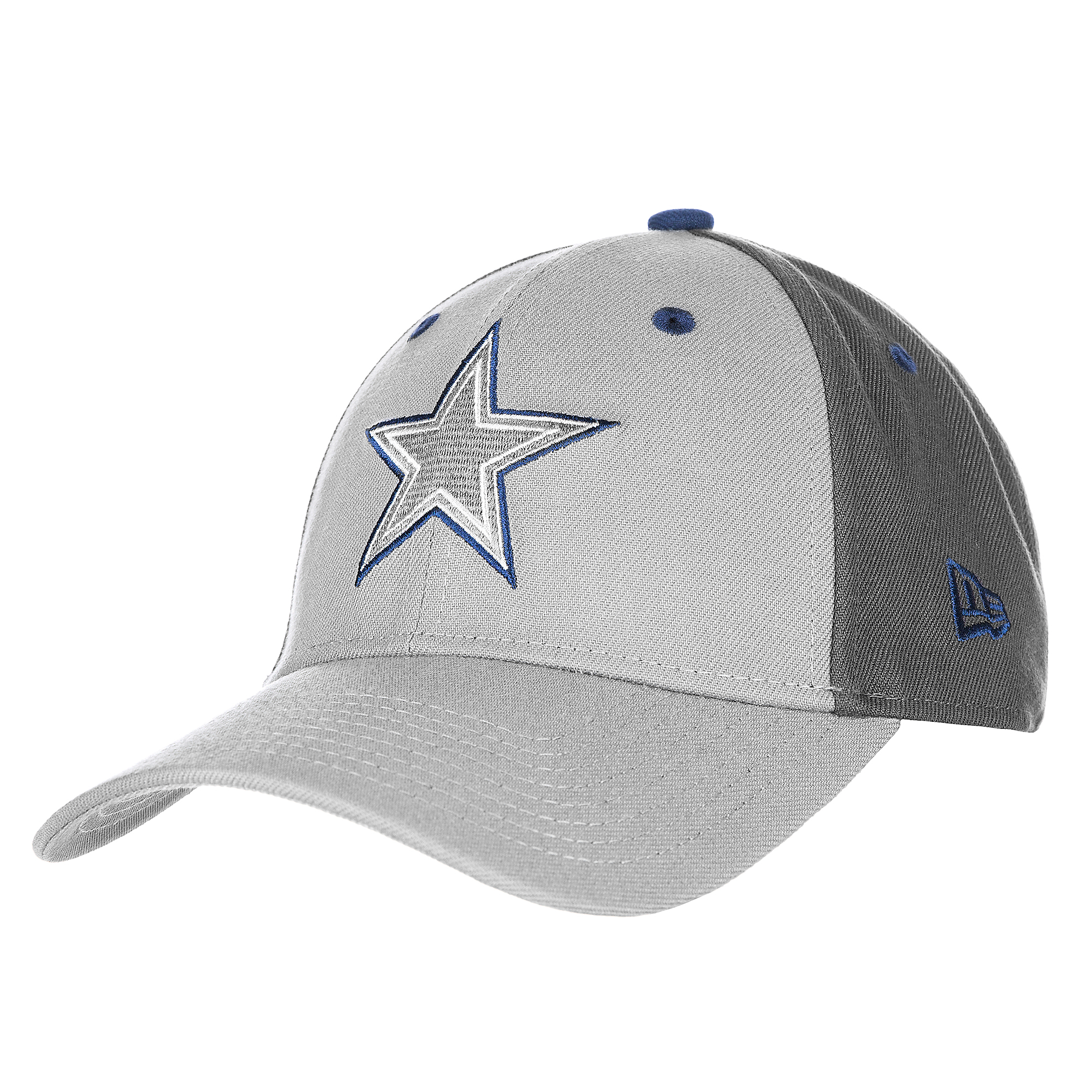1a2df1b32 Dallas Cowboys New Era The League Grey Pop 9Forty Cap