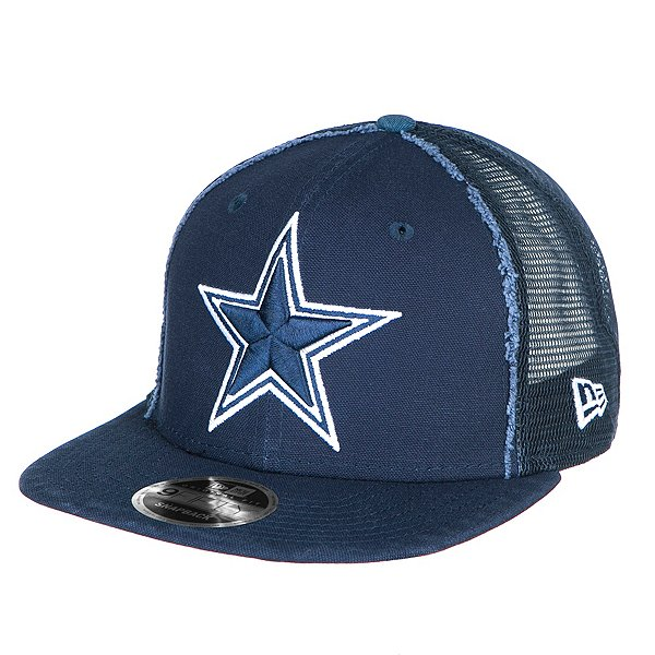 Dallas Cowboys New Era Trucker Worn 9Fifty Cap