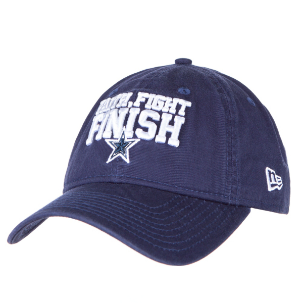 Dallas Cowboys New Era Faith Fight Finish Mom 9Twenty Cap
