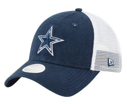 c0cc9bbea Dallas Cowboys New Era Womens Trucker Shine 9Twenty Cap | Dallas Cowboys  Pro Shop