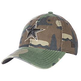 Dallas Cowboys New Era Womens Core Classic Woodland Camo 9Twenty Cap